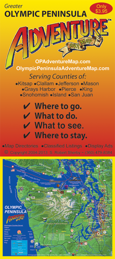 Olympic Peninsula Adventure Map